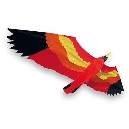 Cerf-volant oiseau rouge - Didakites