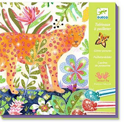 Glitterschilderij Tropico - Djeco