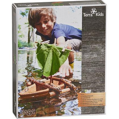 Kit d'assemblage Bateau en liège de Terra Kids