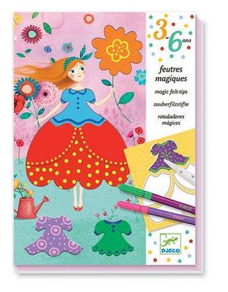 Magische kleurdoos Les jolies robes de Marie - Djeco