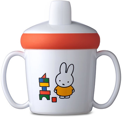 Gobelet en mélamine avec bec verseur Miffy - Mepal
