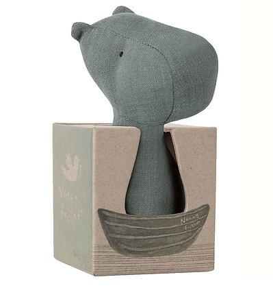 Nijlpaard rammelaar - Maileg