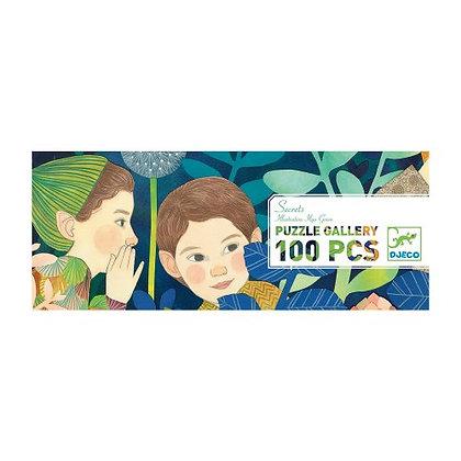 Puzzel secrets 100 stukjes van Djeco