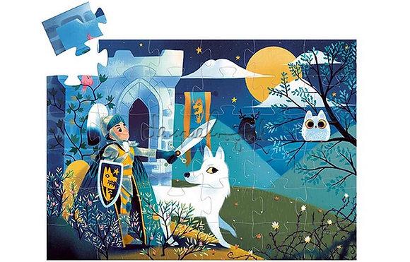 Puzzle le chevalier dela pleine lune - Djeco