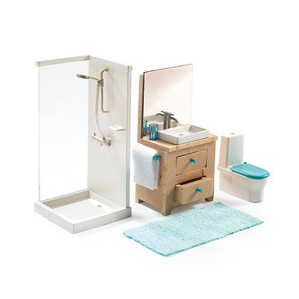 Badkamer voor poppenhuis - Djeco
