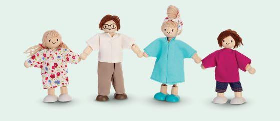Poppenfamilie - Plan Toys