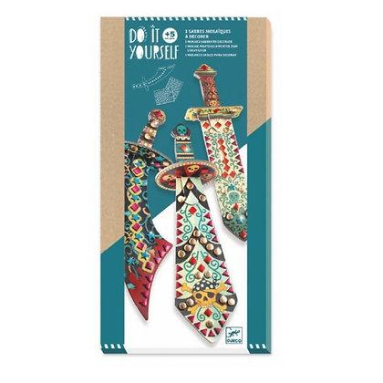 Sabres mosaiques à décorer - Djeco