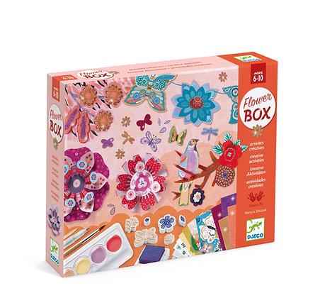 Flower box: knutselpakket bloemen - Djeco
