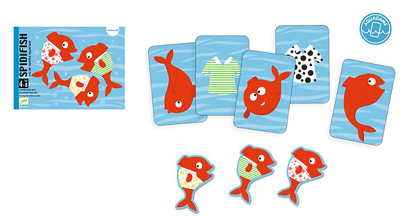 Spidifish - Djeco