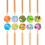 Thumbnail: Crayons 5-en-1, 10 pièces - Ooly