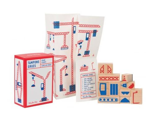 Coffret tampons chantier - Moulin Roty