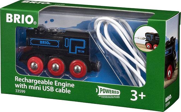 Locomotive rechargeable BRIO
