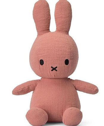 Miffy mousseline rose