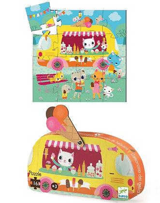 Puzzle camion de glaces - Djeco