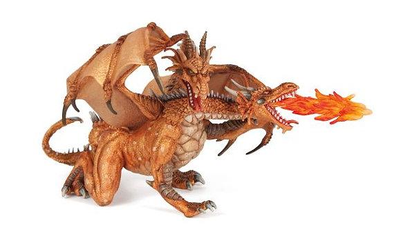 Dragon à deux têtes - Papo