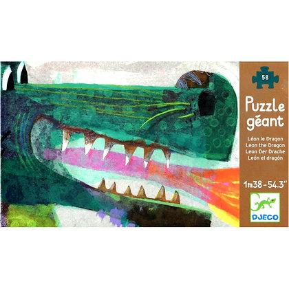 Grote draak puzzel - Djeco