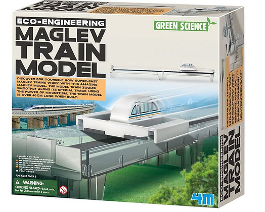 Maglev train model