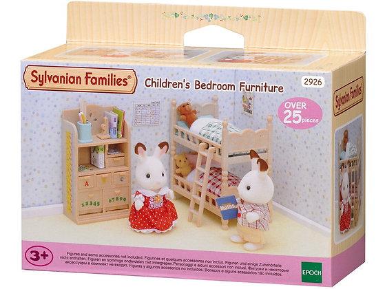 Le mobilier chambre enfants - Sylvanian Families