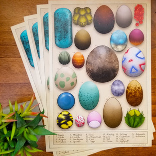 Pokémon Egg Chart Poster