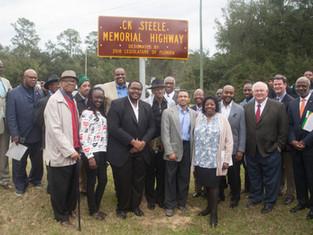 NAPAAHC Hosts Dedication of C.K. Steele Memorial Highway