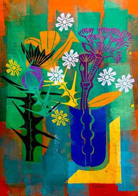 Floral Riffs: Thistle 3