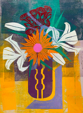 Floral Riffs: Dahlia 4
