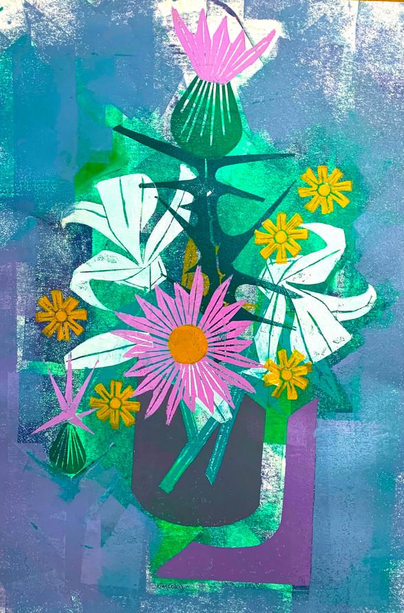 Floral Riffs: Thistle 5