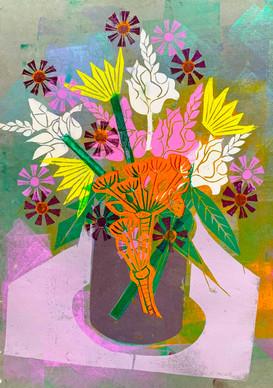 Floral Riffs: Dahlia 3