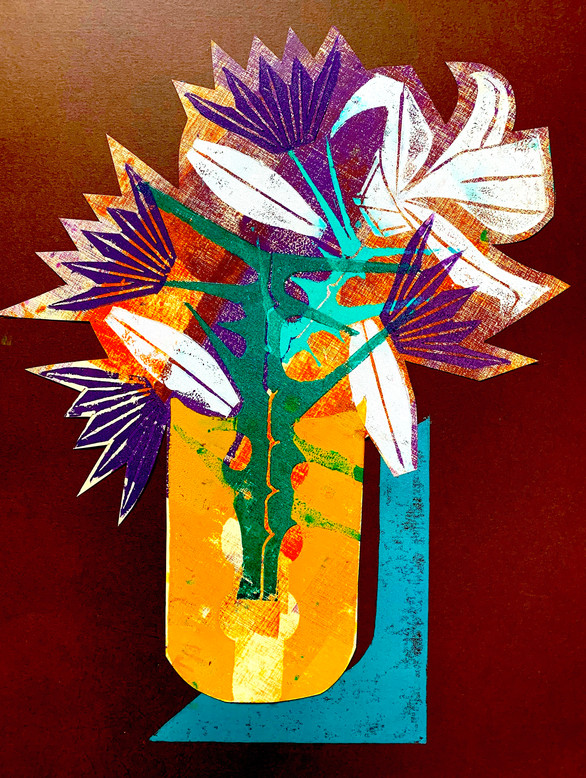 Floral Riffs: Dahlia 1
