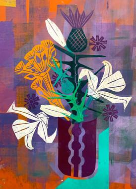 Floral Riffs : Thistle 1