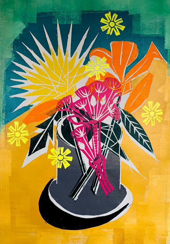 Floral Riffs: Dahlia 2