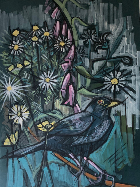 Male Blackbird SOLD