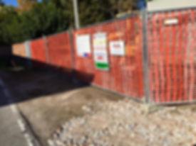 recinzione cantiere
