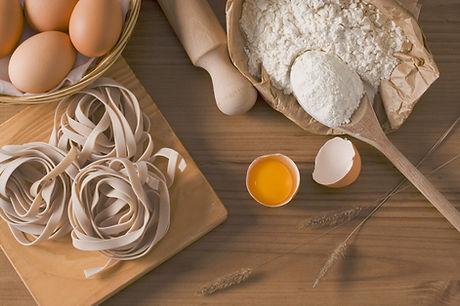 Ingredienti della pasta
