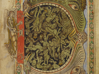 The world is a scary place - the 'Winchester Psalter'