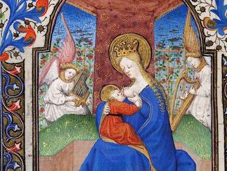 Heidelberg UB, Cod. Sal. IXe, Livre d'heures, Paris, 1420-30