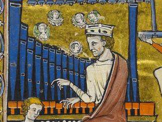 David's search for harmony- 'The Rutland Psalter'