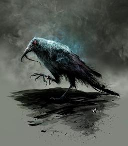 Silky the Crow