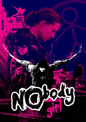 NObody Girl Graphic Poster