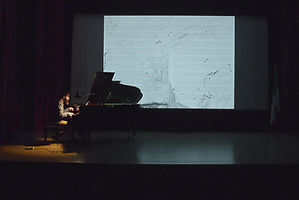 Artwork, vinyl, sound, art, installation, VOID, performance, piano, aleatory, silence, map, google