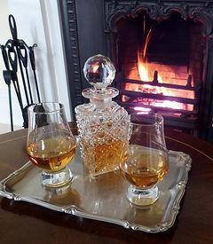 Enjoy a nip of whisky