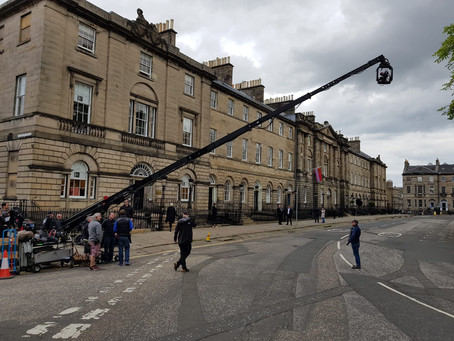 SLS & Crexcell providing city centre road control in Edinburgh