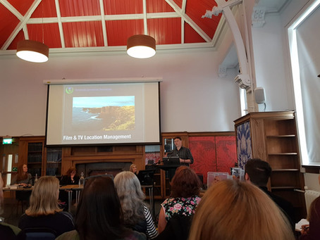 Tim Maskell speaks at #ScreenReady event