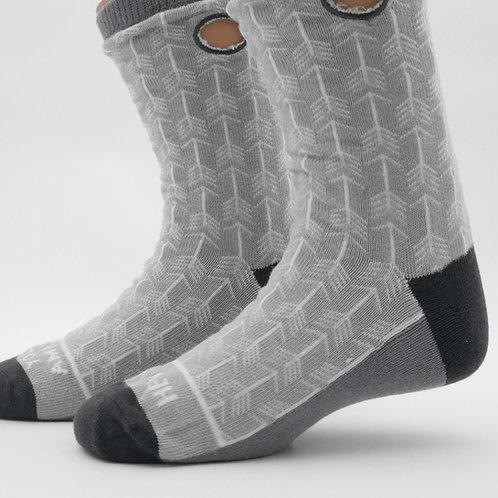 Crew Length Adaptive Socks by Beedle Bug