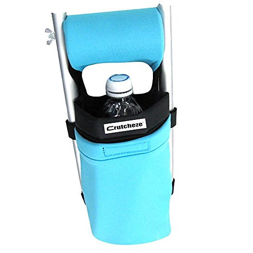 Turquoise Crutch Bag by Crutcheze