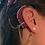 Thumbnail: CZ Pierced Stud Earring 14K Yellow Gold (For Hearing Aids)