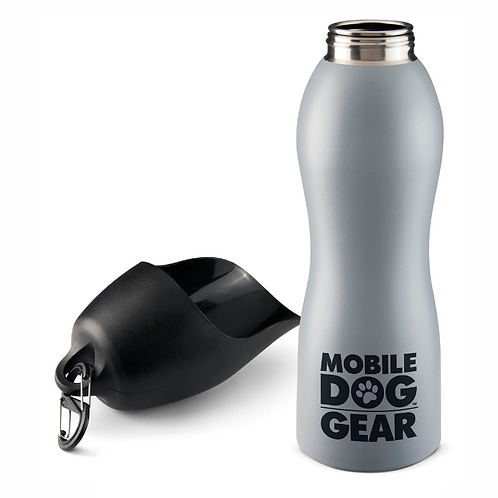 Stainless Steel Dog Water Bottle, 25 Ounces by Overland Dog Gear