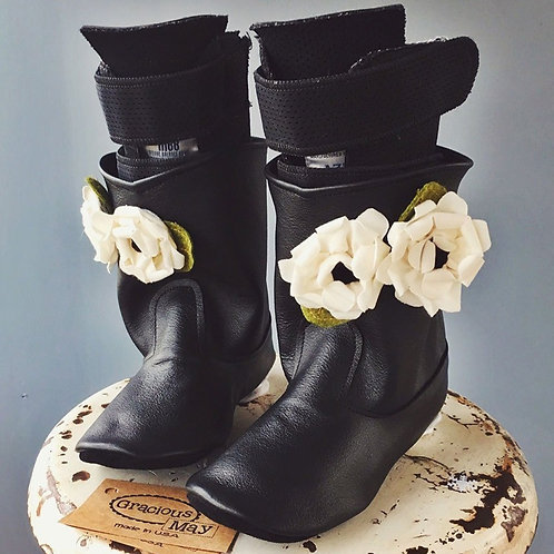 Magnolia Boots - Limited Edition by Shoes for AFO's by Gracious May