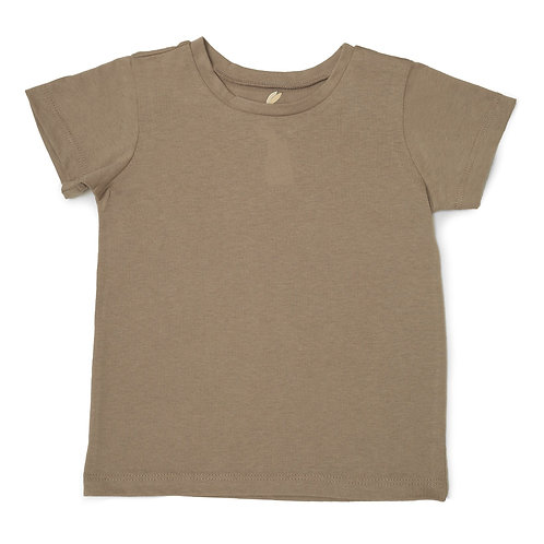 """Unisex Adaptive """"Learn to Dress"""" Every Day T-Shirt: Tan by Me Do."""