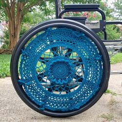 Wheelchair Wheel Covers